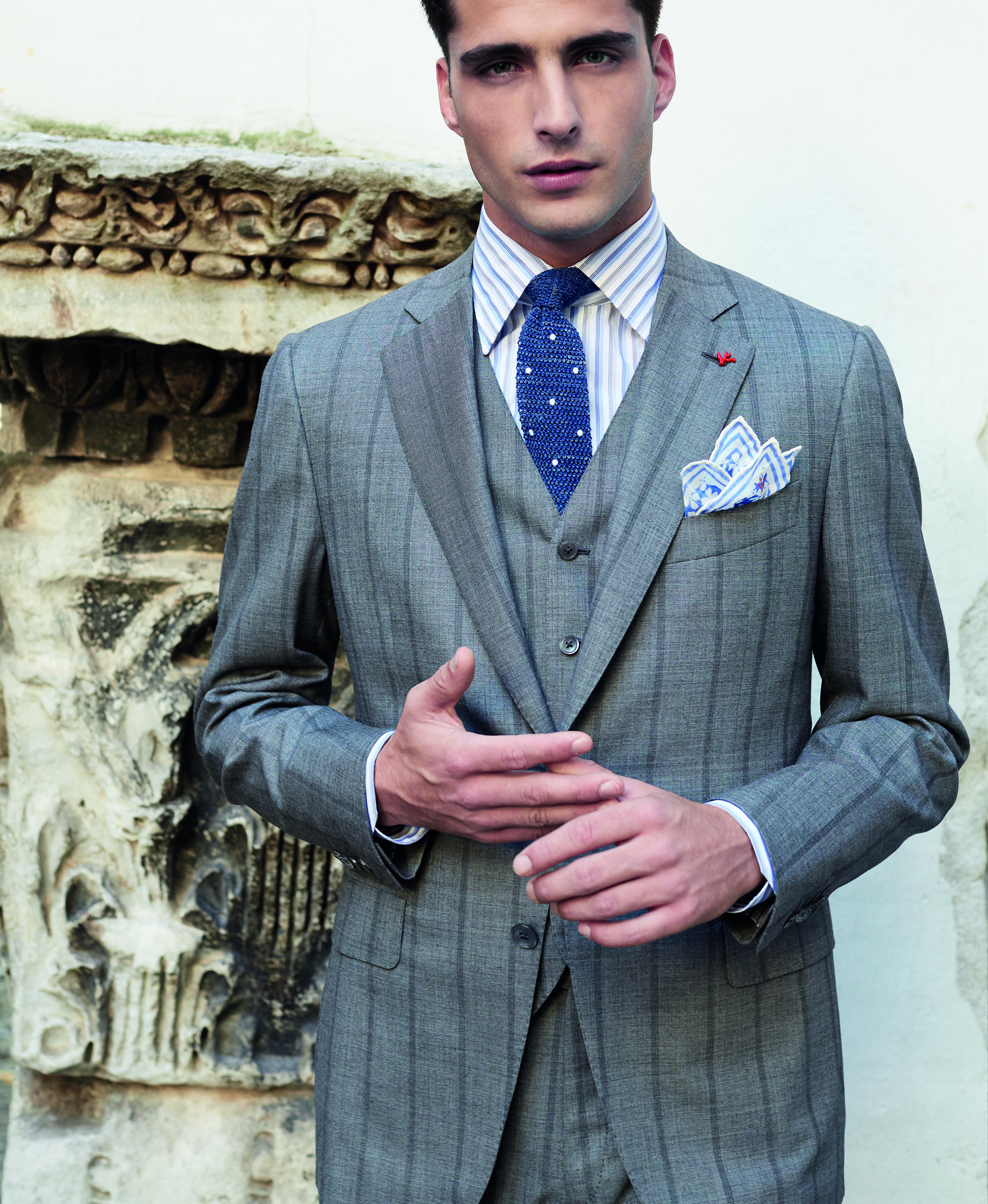 ISAIA – HAND-MADE SUITS WITH A TOUCH OF ITALIAN CHARM ...