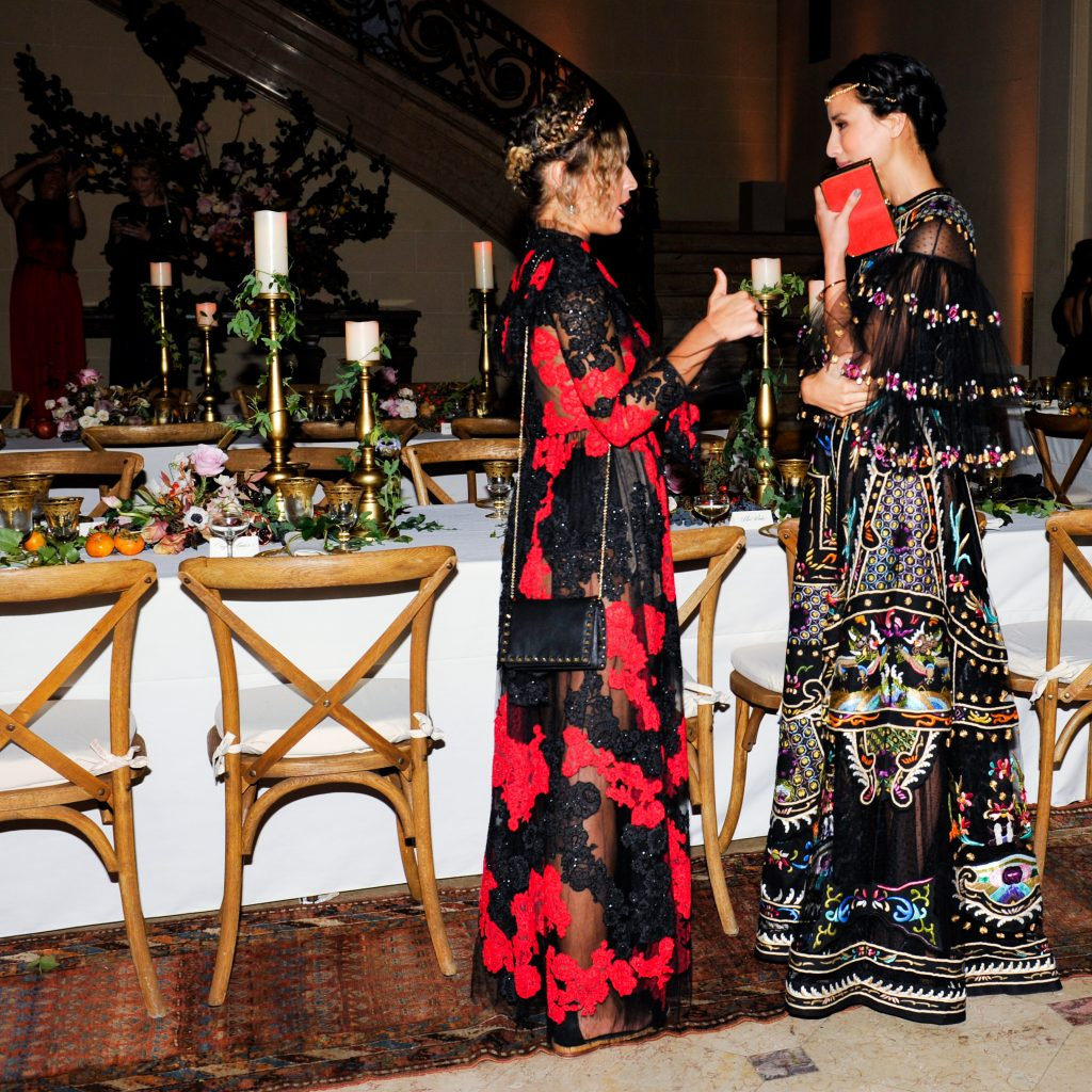 BVLGARI: Roman Bacchanal dinner with Liv Tyler and Daniel Partridge, President Bulgari North America
